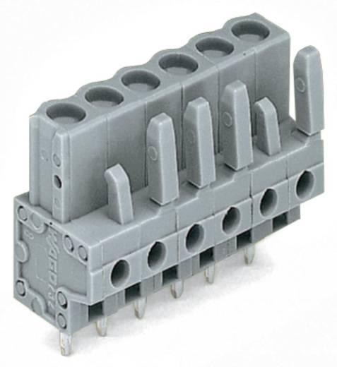 WAGO 232-142 Buchsengehäuse-Platine 232 Polzahl Gesamt 12 Rastermaß: 5 mm 25 St.