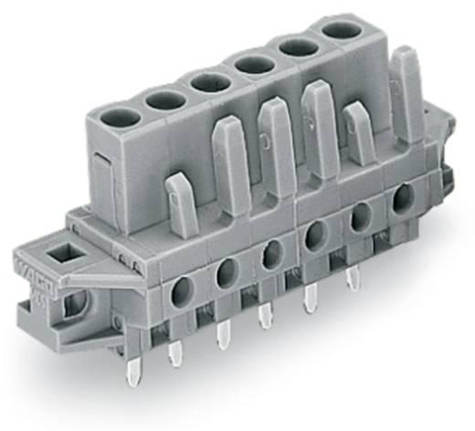 WAGO Buchsengehäuse-Platine 232 Polzahl Gesamt 4 Rastermaß: 5 mm 232-134/031-000 50 St.