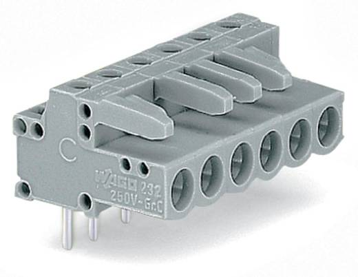 WAGO 232-251 Buchsengehäuse-Platine 232 Polzahl Gesamt 21 Rastermaß: 5 mm 10 St.
