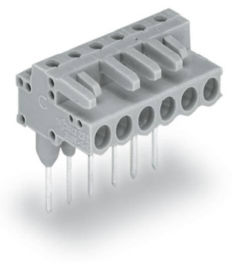 WAGO Buchsengehäuse-Platine 232 Polzahl Gesamt 5 Rastermaß: 5 mm 232-235/005-000 100 St.