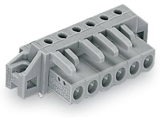 WAGO Buchsengehäuse-Platine 232 Polzahl Gesamt 6 Rastermaß: 5 mm 232-236/031-000 50 St.