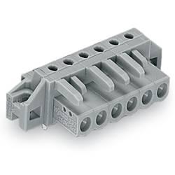 Zásuvkové puzdro na dosku WAGO 232-246/031-000, 94.80 mm, pólů 16, rozteč 5 mm, 10 ks