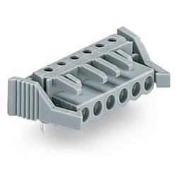 Zásuvkové puzdro na dosku WAGO 232-246/039-000, 95.80 mm, pólů 16, rozteč 5 mm, 10 ks