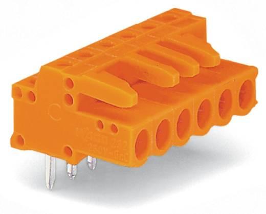 WAGO Buchsengehäuse-Platine 232 Polzahl Gesamt 12 Rastermaß: 5.08 mm 232-272 25 St.