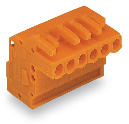 WAGO Buchsengehäuse-Kabel 232 Polzahl Gesamt 23 Rastermaß: 5.08 mm 232-323/026-000 10 St.