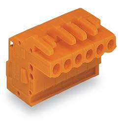 Zásuvkové púzdro na kábel WAGO 232-322/026-000, 114.16 mm, pólů 22, rozteč 5.08 mm, 10 ks