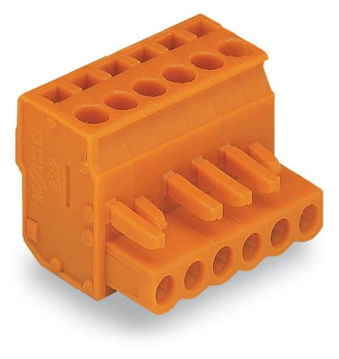 WAGO Buchsengehäuse-Kabel 232 Polzahl Gesamt 17 Rastermaß: 5.08 mm 232-417/026-000 25 St.
