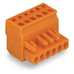 Zásuvkové púzdro na kábel WAGO 232-422/026-000, 114.16 mm, pólů 22, rozteč 5.08 mm, 10 ks