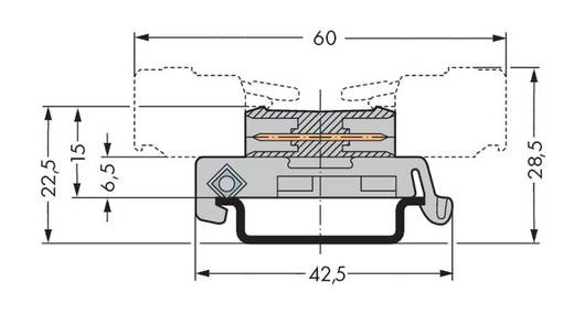 WAGO Stiftleiste (Standard) 301 Polzahl Gesamt 16 Rastermaß: 5 mm 232-516/007-000 25 St.