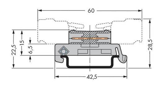 WAGO Stiftleiste (Standard) 301 Polzahl Gesamt 6 Rastermaß: 7.50 mm 232-576/007-000 10 St.