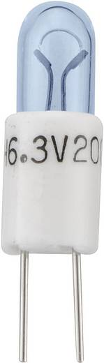 Subminiaturlampe BIPIN T1 3/4 6.3 V 1.2 W BIPIN T1 Sockel=T1 3/4 MG Klar Barthelme Inhalt: 1 St.
