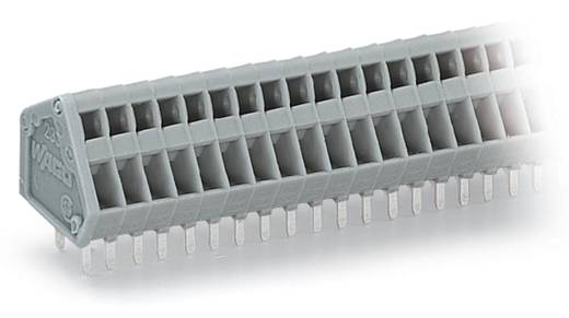 Federkraftklemmblock 0.50 mm² Polzahl 3 WAGO Grau 500 St.