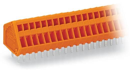 Federkraftklemmblock 0.50 mm² Polzahl 24 233-424 WAGO Orange 80 St.