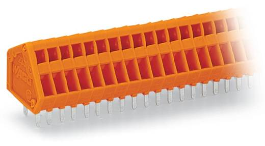 Federkraftklemmblock 0.50 mm² Polzahl 24 WAGO Orange 80 St.