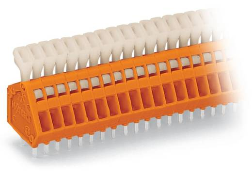 Federkraftklemmblock 0.50 mm² Polzahl 5 WAGO Orange 340 St.
