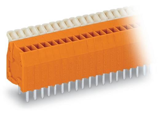 Federkraftklemmblock 0.50 mm² Polzahl 12 WAGO Orange 140 St.