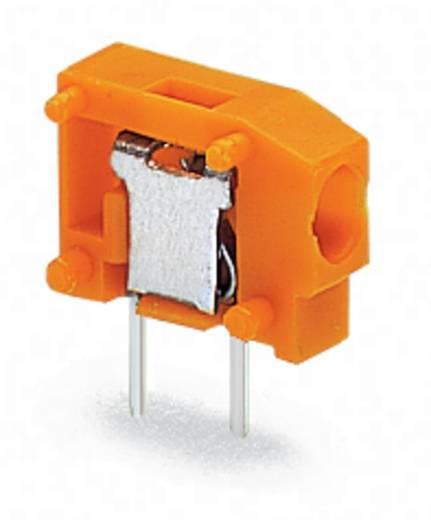 Federkraftklemmblock 0.75 mm² Polzahl 1 WAGO Orange 800 St.