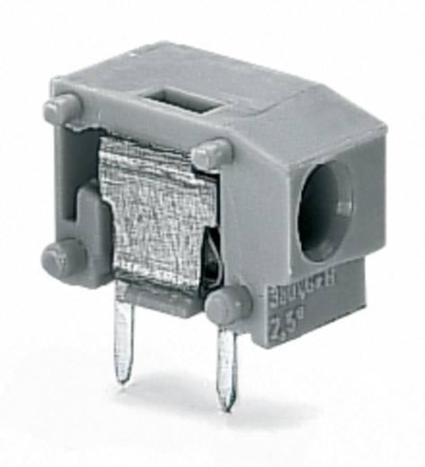Federkraftklemmblock 1.50 mm² Polzahl 1 WAGO Dunkel-Grau 600 St.
