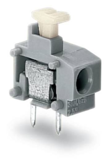 Federkraftklemmblock 0.75 mm² Polzahl 1 WAGO Grau 600 St.