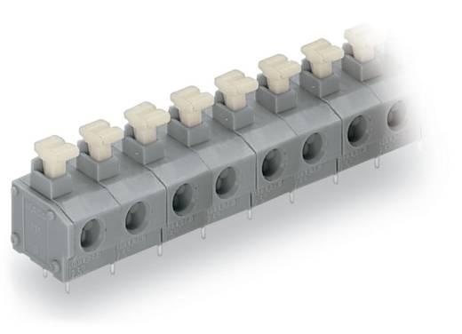 Federkraftklemmblock 0.75 mm² Polzahl 6 WAGO Grau 100 St.
