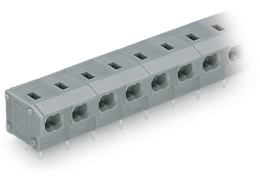 Federkraftklemmblock 0.34 mm² Polzahl 3 WAGO Grau 200 St.