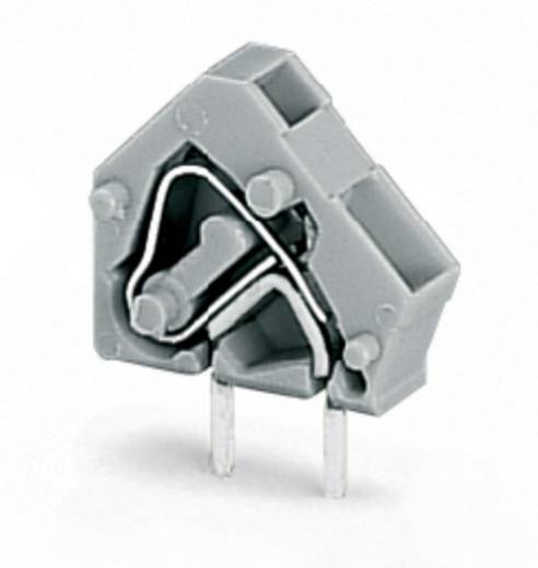 Federkraftklemmblock 2.50 mm² Polzahl 1 236-743/332-000/999-950 WAGO Licht-Grau 600 St.