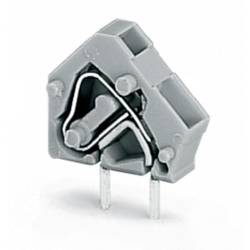 Pružinová svorka WAGO 236-742/332-000, 2.50 mm², Počet pinov 1, tmavosivá, 600 ks