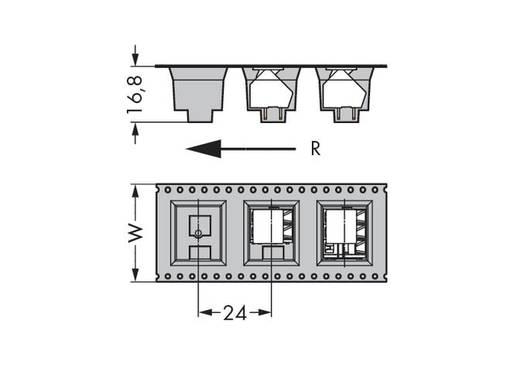 Federkraftklemmblock 2.50 mm² Polzahl 2 236-402/334-604/997-405 WAGO Schwarz 140 St.