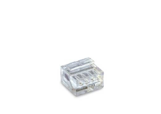 Dosenklemme flexibel: - starr: 0.13-0.2 mm² Polzahl: 4 WAGO 243-144 1000 St. Transparent