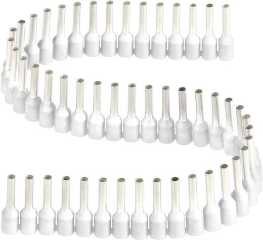 Aderendhülse 1 x 0.75 mm² x 8 mm Teilisoliert Weiß Vogt Verbindungstechnik 460208.00050 1 St.