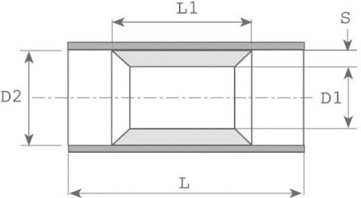 Parallelverbinder 0.50 mm² 1 mm² Vollisoliert Rot Vogt Verbindungstechnik 3715P 1 St.