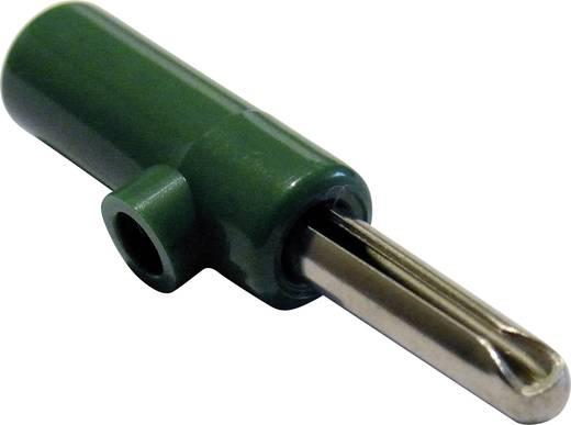Bananenstecker Stecker, gerade Stift-Ø: 4 mm Grün Schnepp 1 St.