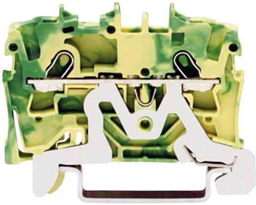 Schutzleiterklemme 4.20 mm Zugfeder Belegung: PE Grün-Gelb WAGO 2001-1207 1 St.