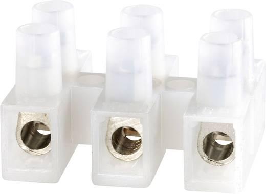 Lüsterklemme flexibel: -6 mm² starr: -6 mm² Polzahl: 3 Adels-Contact 1000/3 1 St. Natur