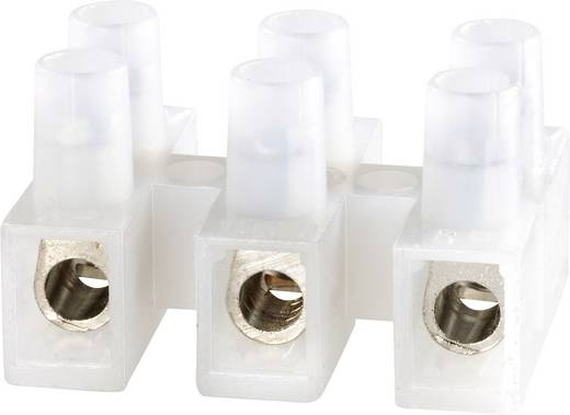 Lüsterklemme flexibel: -6 mm² starr: -6 mm² Polzahl: 3 Adels-Contact 1000/3 DS 1 St. Natur