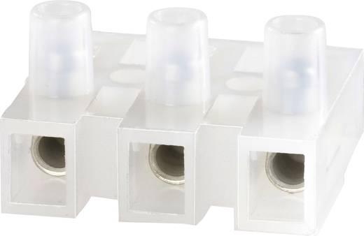 Lüsterklemme flexibel: -2.5 mm² starr: -2.5 mm² Polzahl: 12 Adels-Contact 160 BU/12 1 St. Natur