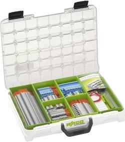 Instalační box Wago 821-120, šedá/modrá/zelenožlutá/oranžová