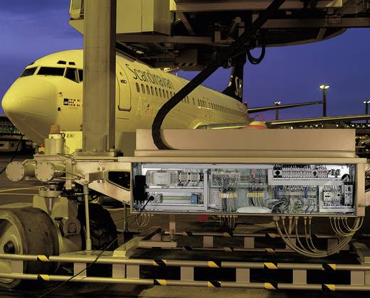 Installationsetagenklemme 6.20 mm Zugfeder Belegung: NT, L, PE Grau WAGO 2005-7641 1 St.