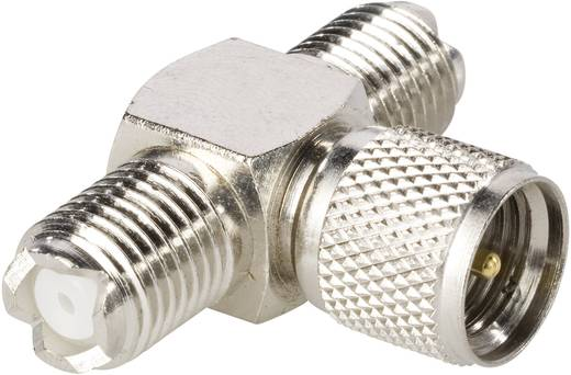 Mini-UHF-Adapter Mini-UHF-Stecker - Mini-UHF-Buchse, Mini-UHF-Buchse BKL Electronic 0407021 1 St.