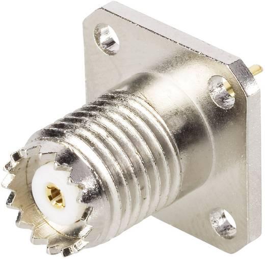 Mini-UHF-Steckverbinder Buchse, Einbau vertikal 50 Ω BKL Electronic 0407029 1 St.