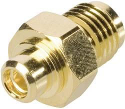 MMCX zásuvka ⇔ SMA zásuvka BKL 416514, 50 Ω, adaptér rovný