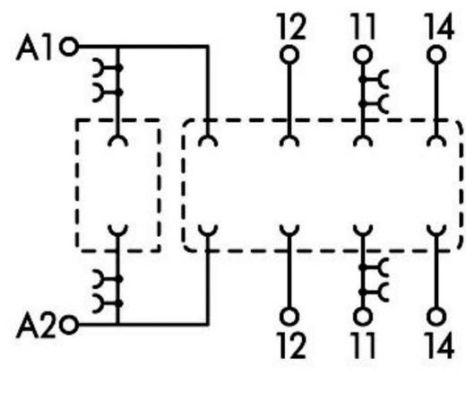 Relaissockel 1 St. WAGO 788-103