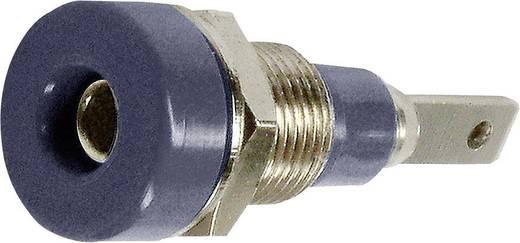 Laborbuchse Buchse, Einbau vertikal Stift-Ø: 2 mm Schwarz MultiContact LB-I2R 1 St.