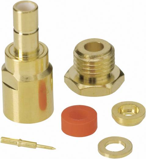 SMB-Steckverbinder Stecker, gerade 50 Ω BKL Electronic 411018 1 St.
