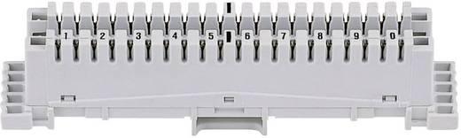 LSA-PLUS® Anschlussleiste Baureihe 2 Anschlussleiste mit Farbcode 10 Doppeladern 79101-511 00 Grau 3M Inhalt: 1 St.