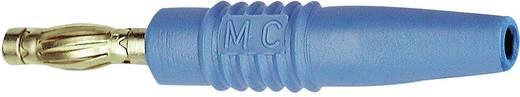 Lamellenstecker Stecker, gerade Stift-Ø: 4 mm Blau MultiContact SLS425-L 1 St.