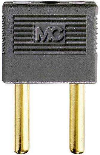 Verbindungsstecker Grau Stift-Ø: 4 mm Stiftabstand: 14 mm MultiContact EK-400 1 St.