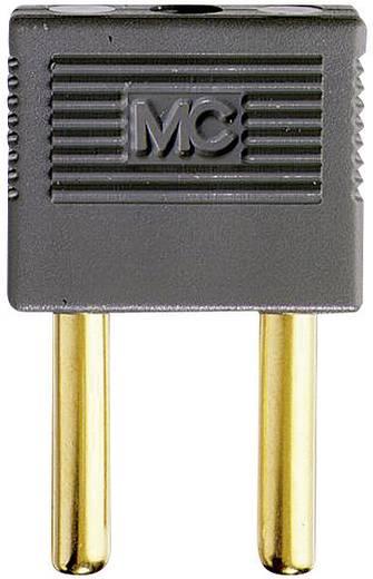 Verbindungsstecker Grau Stift-Ø: 4 mm Stiftabstand: 14 mm Stäubli EK-400 1 St.