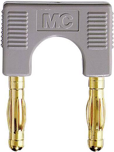 Verbindungsstecker Grau Stift-Ø: 4 mm Stiftabstand: 19 mm Stäubli KS4-19L 1 St.