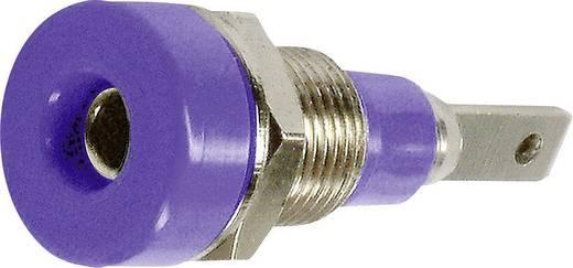Laborbuchse Buchse, Einbau vertikal Stift-Ø: 2 mm Violett Stäubli LB-I2R 1 St.